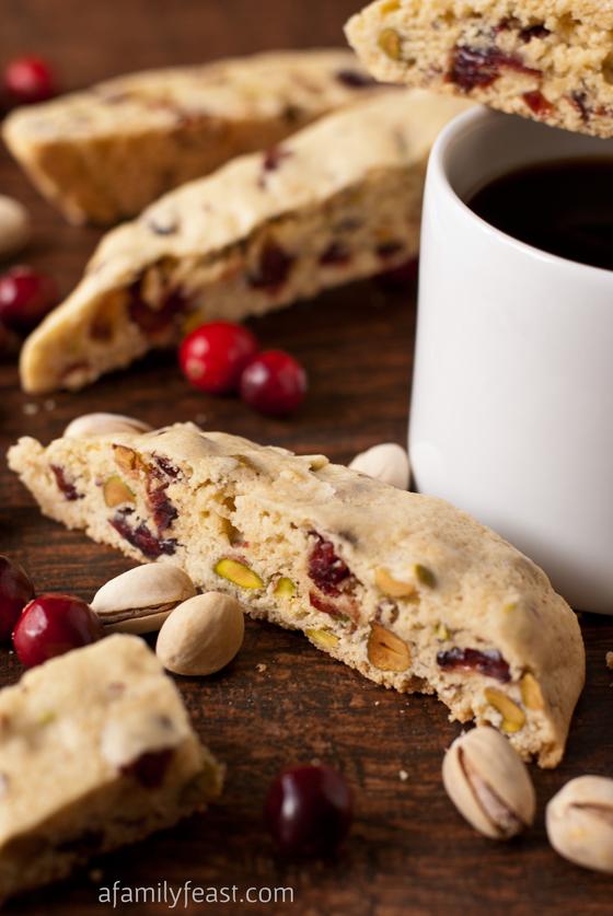 Cranberry Pistachio Biscotti - The perfect holiday biscotti recipe ...