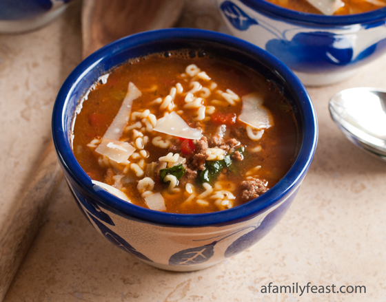 Beef Soup Series: Hamburger Soup - A Family Feast