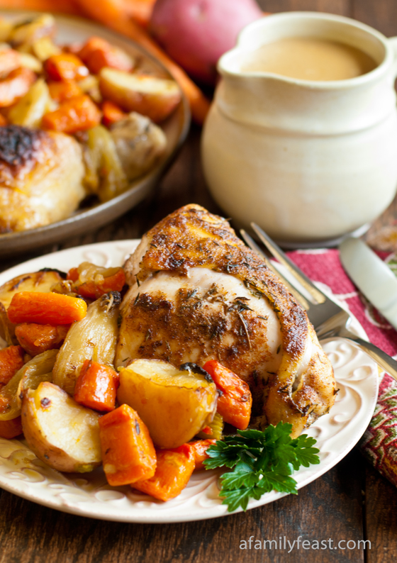 Our Country Baked Chicken recipe is pure comfort food - straight from the oven!
