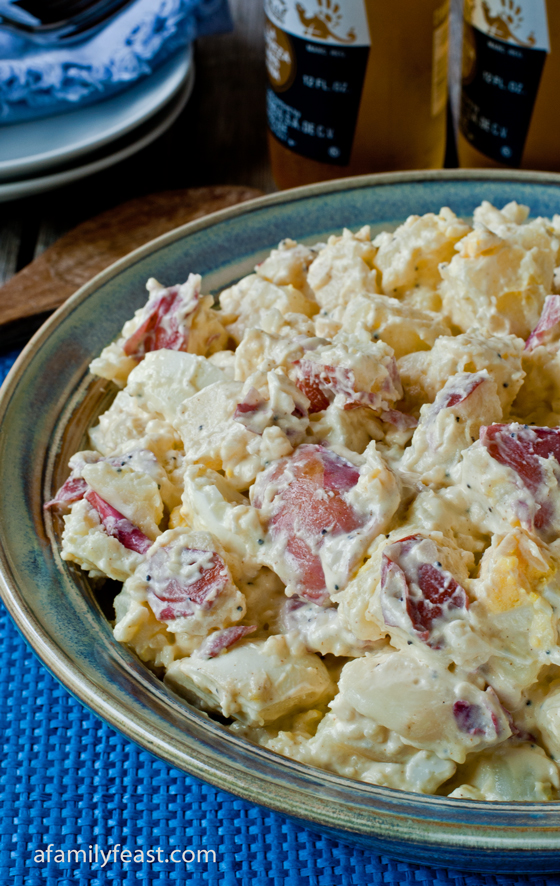Jack's Potato Salad Recipe - Everytime my husband Jack makes this potato salad, we get asked for the recipe! It's so good!