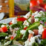 Hungry Grilled Romaine Salad - A Family Feast