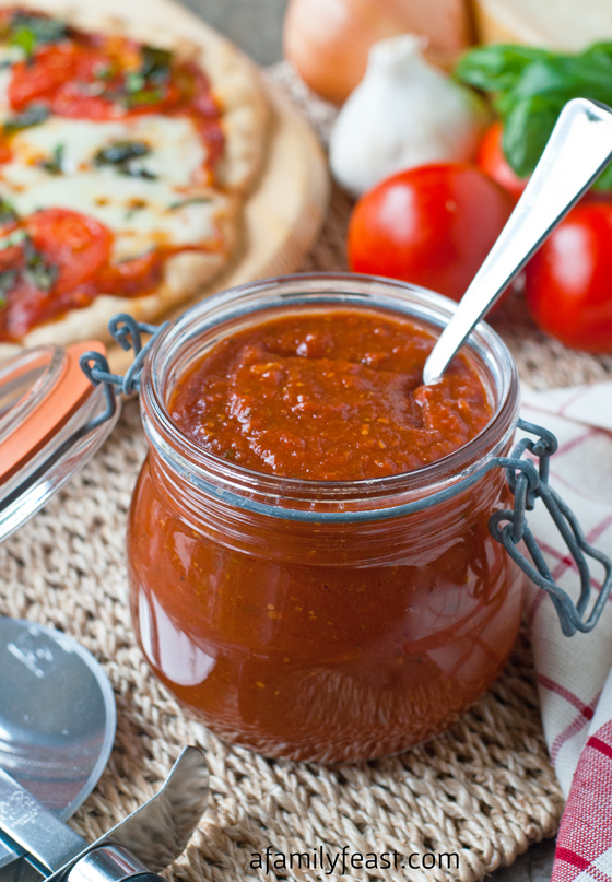 Quick Red Pizza Sauce Recipe — Dishmaps