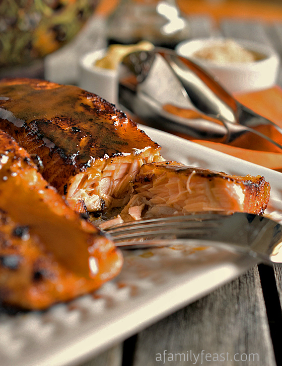 Easy Glazed Salmon - A Family Feast