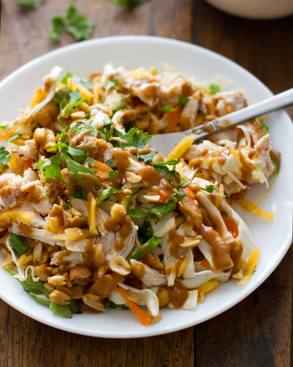 Chopped Thai Chicken Salad - 20 Sensational Healthy Salads