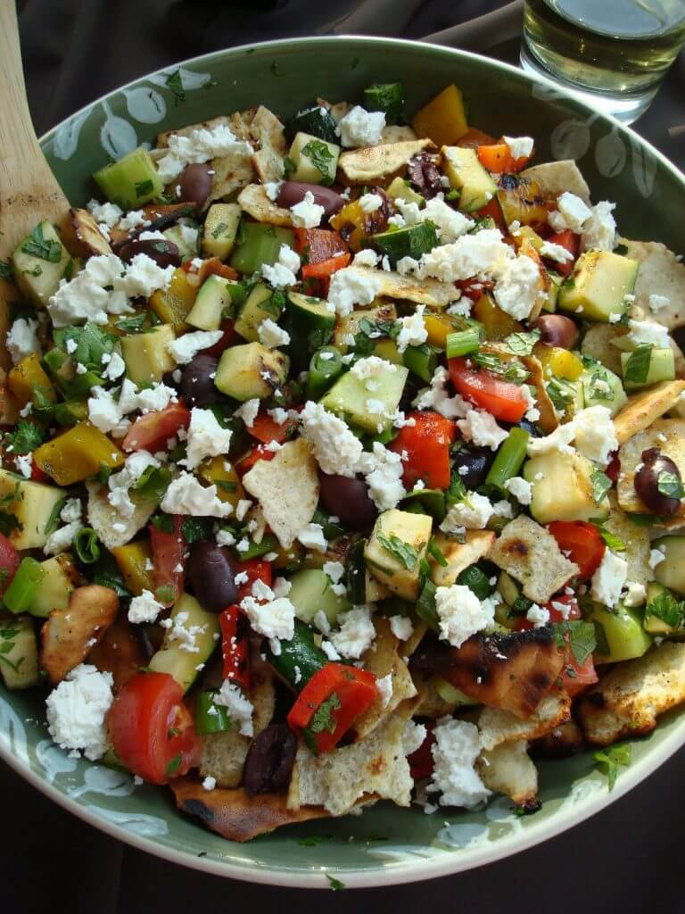 Grilled Foutash - 20 Sensational Healthy Salads