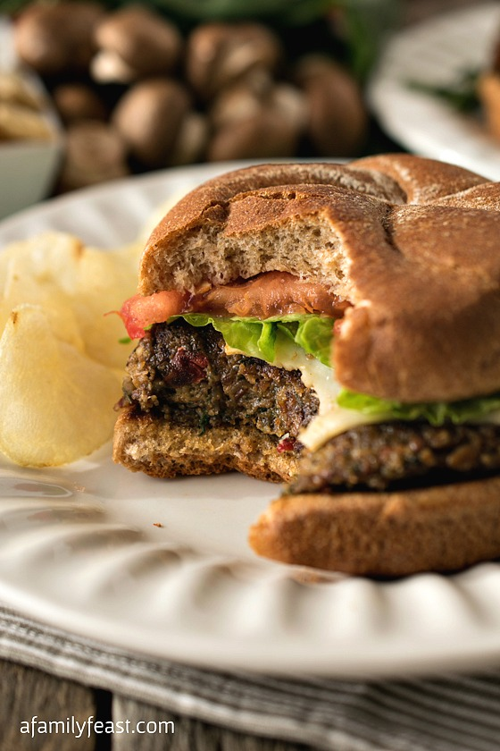 Gluten Free Veggie Burgers - Moist, flavorful veggie burgers that are made with real vegetables and not just a lot of fillers! Even a non-vegetarian will like these veggie burgers!