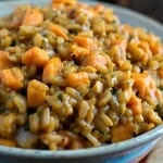 Sweet Potato Risotto - A Family Feast