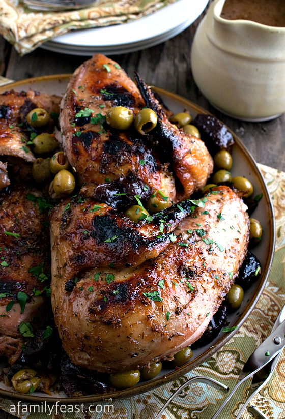 Chicken Marbella - A delicious recipe adapted from classic version ...