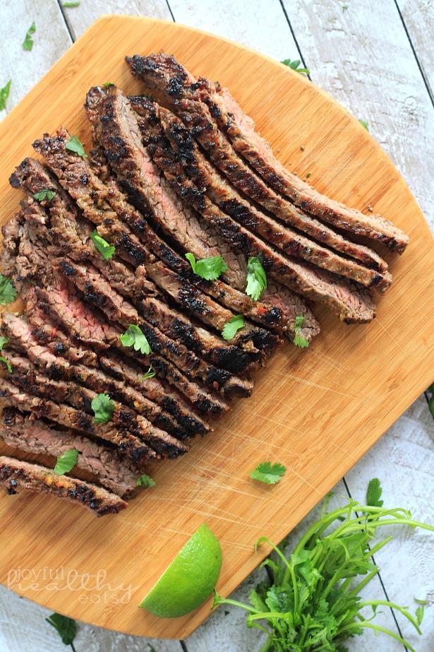 Grilled Fajita Skirt Steak - 30-Plus Great Grilling Recipes