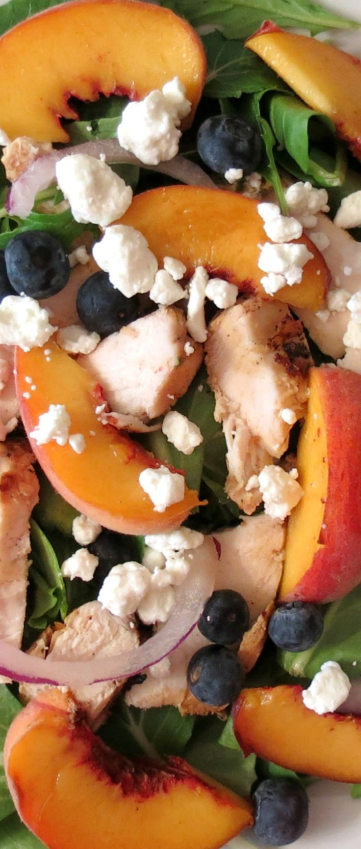 Blueberry Peach Chicken Salad - 25-Plus Perfect Peach Recipes