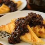 Grilled Polenta with Bacon Jam