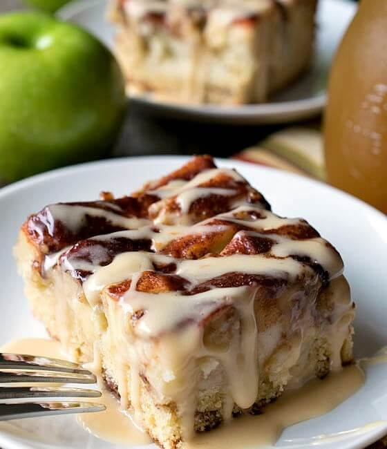New England Apple Cider Cake