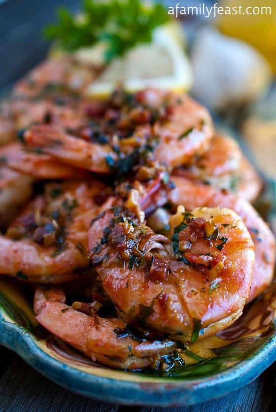 Shrimp Scampi - A Family Feast