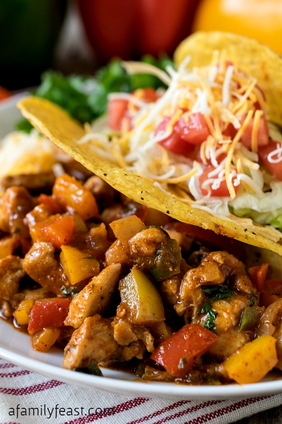 Basic Chicken Tacos Recipes — Dishmaps