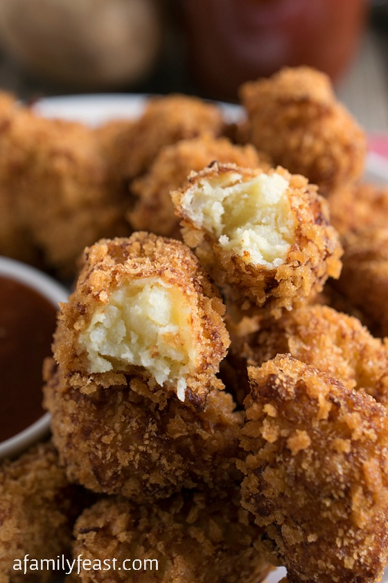You can make a large batch of these homemade tater tots and freeze ...