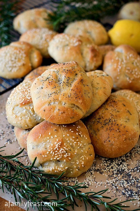 Potato Rosemary Kaiser Rolls - Make delicious and perfectly textured ...