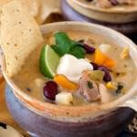 White Chili with Chicken - A Family Feast