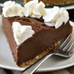 No Bake Nutella Almond Cheesecake - A Family Feast