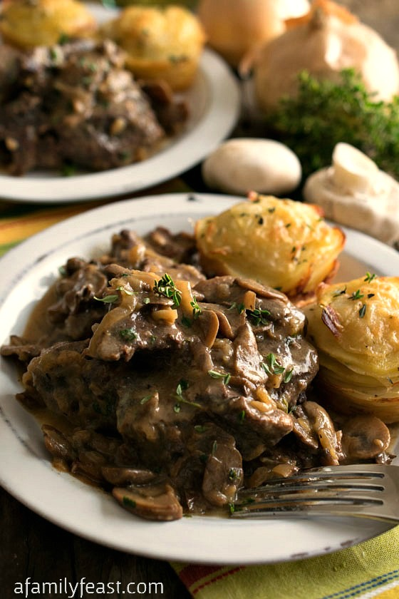 Slow Cooker Swiss Steak - A Family Feast