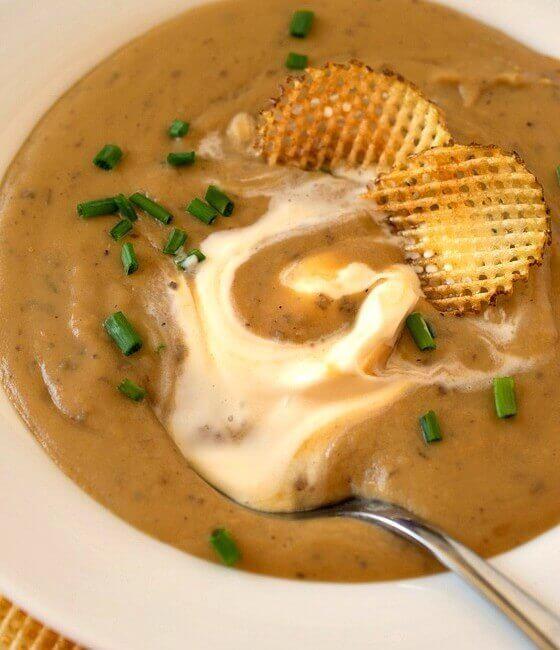 Roasted Potato Soup