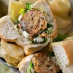 Tuna Meatball Sub - A Family Feast