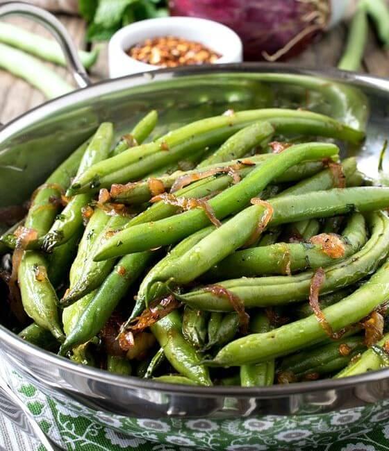 Mario Batali's Green Beans (Fagiolini in Padella)