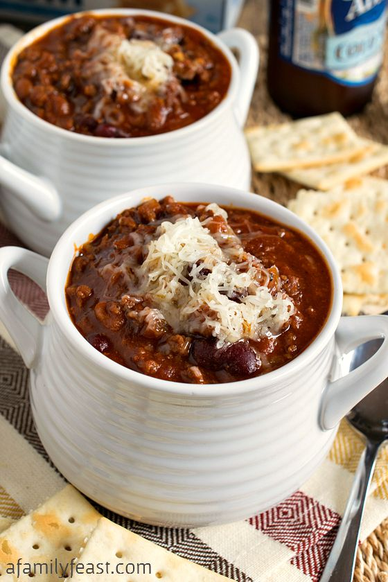 Glenn's Sweet & Spicy Slow Cooker Chili - A uniquely delicious chili ...