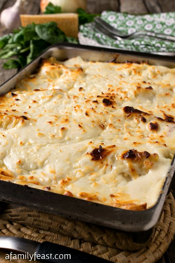 Today's recipe for White Lasagna Chicken Rollups is really what we ...