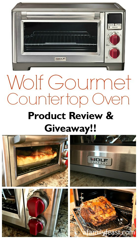 Wolf Countertop Convection Oven Reviews : Wolf Gourmet Countertop Oven - Product Review & Giveaway - A Family ...