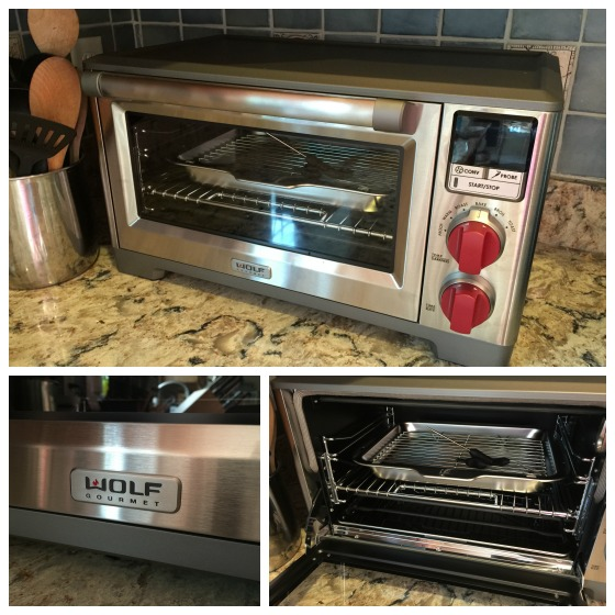 Wolf gourmet countertop oven product review giveaway for Wolf toaster oven