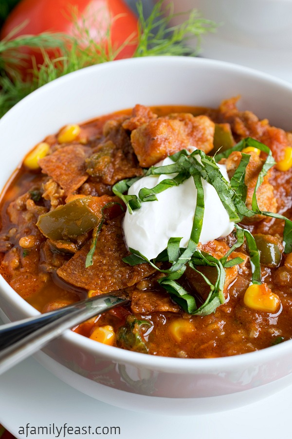 ... Italian Chili! This is a very unique and delicious chili – and it